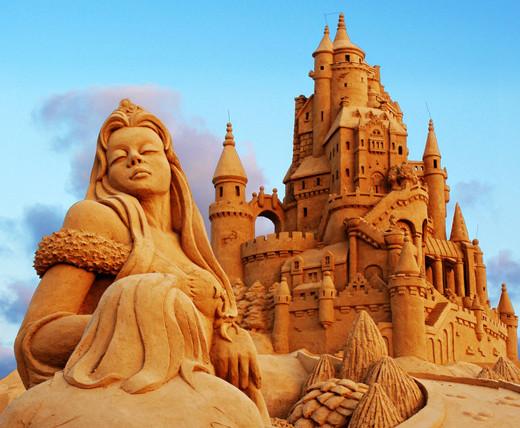 Sculture di sabbia Jesolo: l'arte della sabbia
