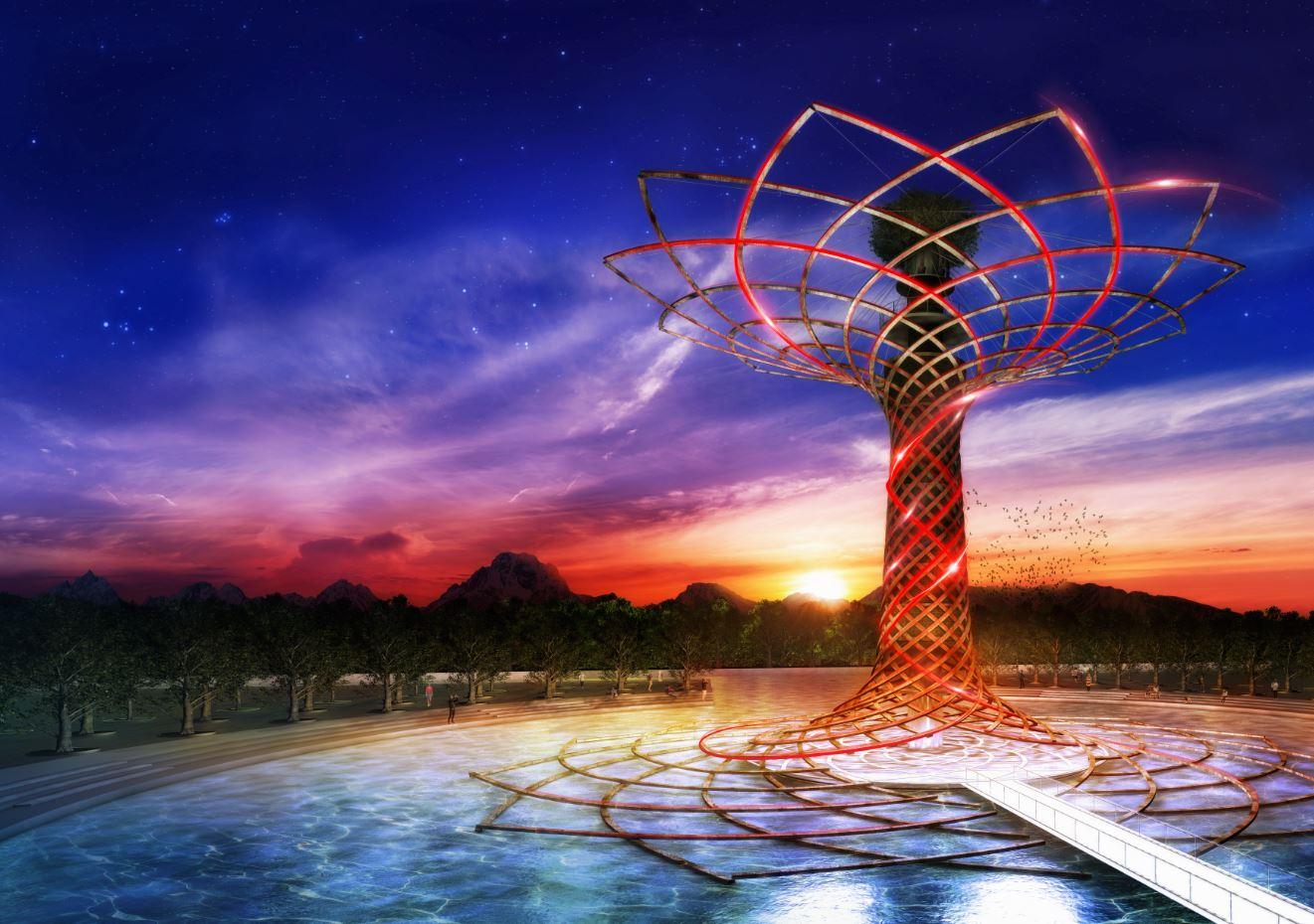 Cosa vedere a Expo Milano 2015: l'albero della vita