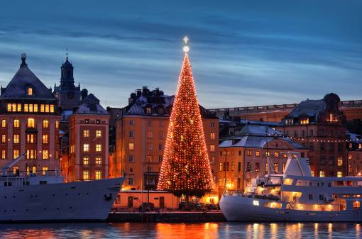 Alberi di Natale più belli d'Europa: Albero di Stoccolma
