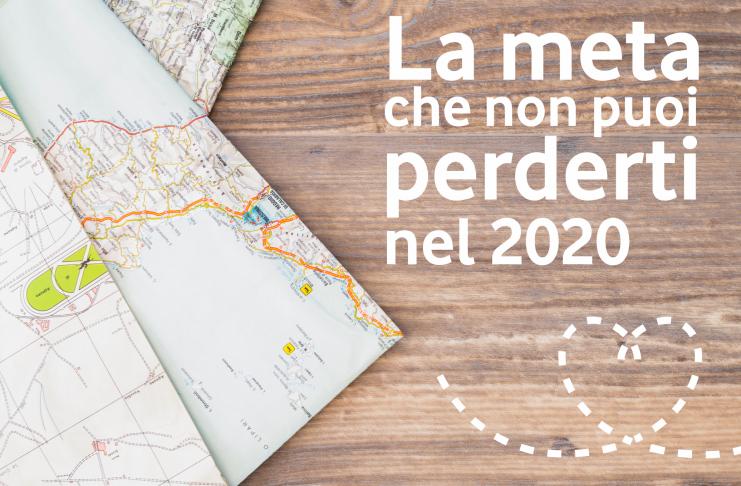 Qual è la meta da visitare nel 2020?